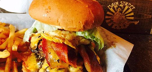 Main Street BBQ Burger